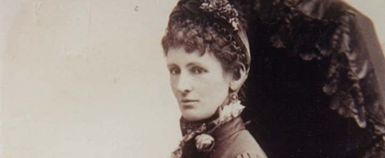 Image of Janet, Lady Clarke in the year 1880